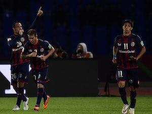 San Lorenzo book Real Madrid date