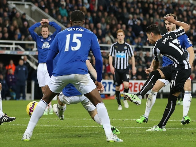 Result: Newcastle squeeze past Everton