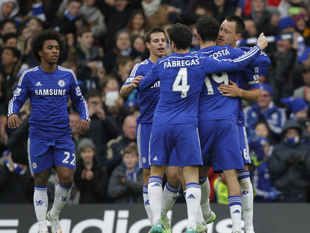 Result: Chelsea too strong for West Ham