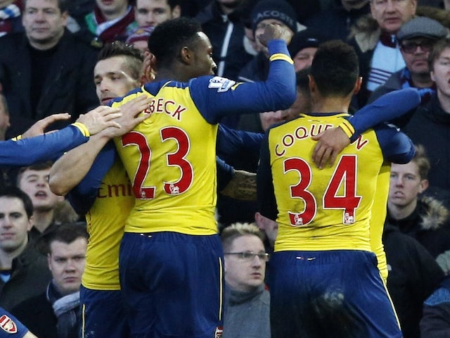 Result: Arsenal hold on to beat West Ham