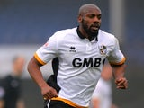 Dany N'Guessan of Port Vale during the Sky Bet League One match between Port Vale and Rochdale at Vale Park on November 15, 2014