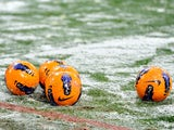 Generic football snow picture