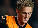 George Saville in action for Wolves on September 16, 2014