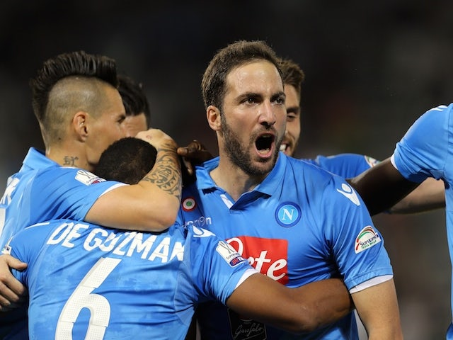 Gonzalo Higuain hit with four-match ban