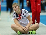 Holly Bleasdale of Great Britain and Northern Ireland competes in the Women's Pole Vault Qualification on March 1, 2013