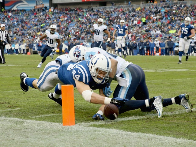 Result: Colts ease past Titans