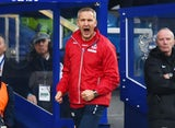 Keith Millen caretaker manager of Crystal Palace shouts from the touchline during the Barclays Premier League match against Queens Park Rangers on December 28, 2014