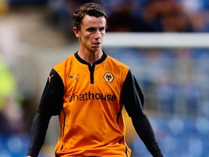 Kevin Foley in action for Wolves in July 2014