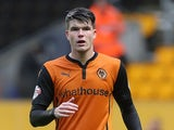 Liam McAlinden in action for Wolves on August 12, 2014