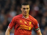 Lloyd Jones in action for Liverpool on May 2, 2014