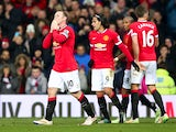 Wayne Rooney of Manchester United celebrates scoring the second goal during the Barclays Premier League match between Manchester United and Newcastle United at Old Trafford on December 26, 2014