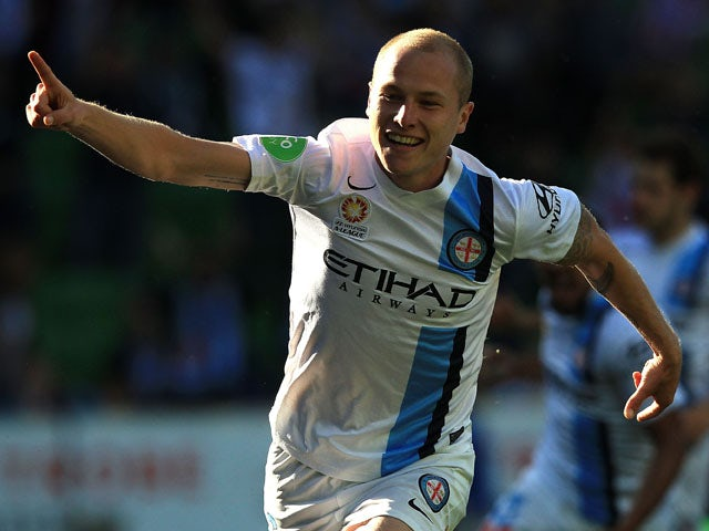 Result: Melbourne City put four past Newcastle