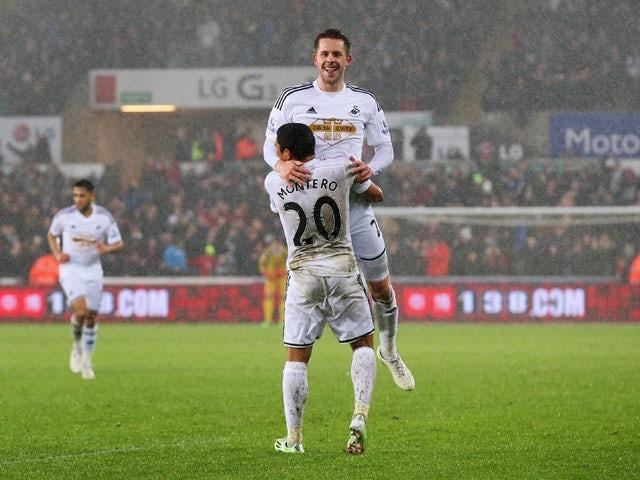 Result: Swansea sneak past Villa