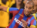Adlene Guedioura in action for Crystal Palace on July 23, 2014