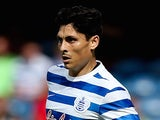 Alejandro Faurlin in action for QPR on August 9, 2014