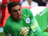 Alex McCarthy in action for QPR on October 19, 2014