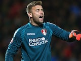 Artur Boruc in action for Bournemouth on October 21, 2014