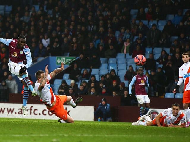 Result: Late Benteke strike sends Villa through