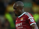 Carlton Cole in action for West Ham on November 22, 2014