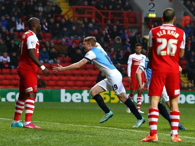 Result: Charlton succumb to Blackburn defeat