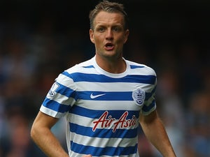 Clint Hill in action for QPR on August 30, 2014