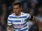 Eduardo Vargas in action for QPR on November 29, 2014