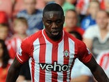Emmanuel Mayuka in action for Southampton on August 9, 2014