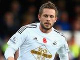 Gylfi Sigurdsson in action for Swansea on November 1, 2014