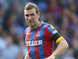 James McArthur in action for Crystal Palace on September 13, 2014