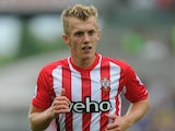 James Ward-Prowse in action for Southampton on September 20, 2014
