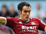 Joey O'Brien in action for West Ham on August 30, 2014