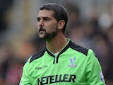 Julian Speroni in action for Crystal Palace on October 4, 2014