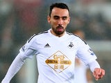 Leon Britton in action for Swansea on December 14, 2014
