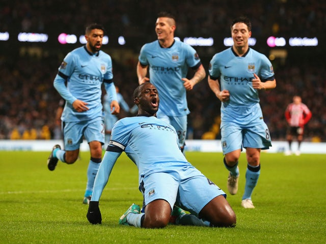 Result: Man City secure win against Sunderland