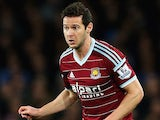 Matt Jarvis in action for West Ham on November 22, 2014
