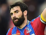 Mile Jedinak in action for Crystal Palace on October 25, 2014
