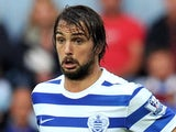 Niko Kranjcar in action for QPR on October 6, 2014