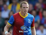 Peter Ramage in action for Crystal Palace on August 10, 2014