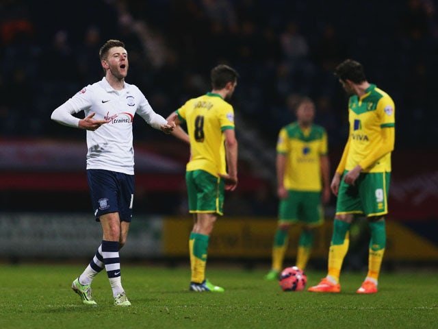 Result: Preston knock out Norwich to advance