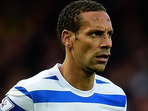Rio Ferdinand in action for QPR on October 5, 2014