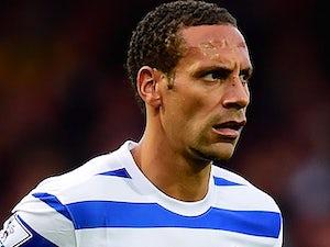 Rio Ferdinand in action for QPR on October 5, 2014
