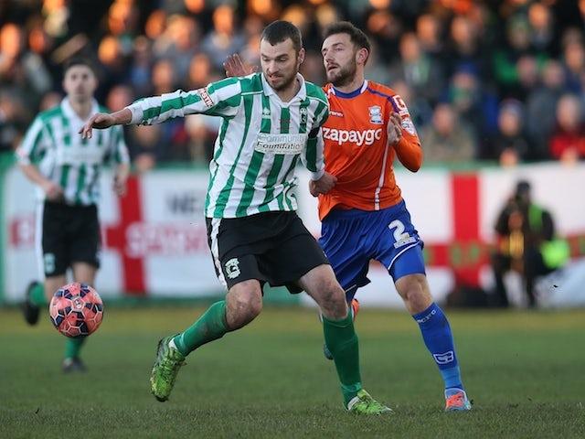 Result: Birmingham stun Blyth with three-goal comeback