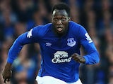 Romelu Lukaku in action for Everton on November 22, 2014