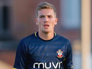 Sam Gallagher in action for Southampton on July 17, 2014