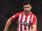 Shane Long in action for Southampton on December 26, 2014