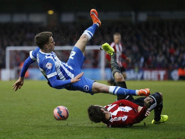 Result: Brighton win it late against Brentford