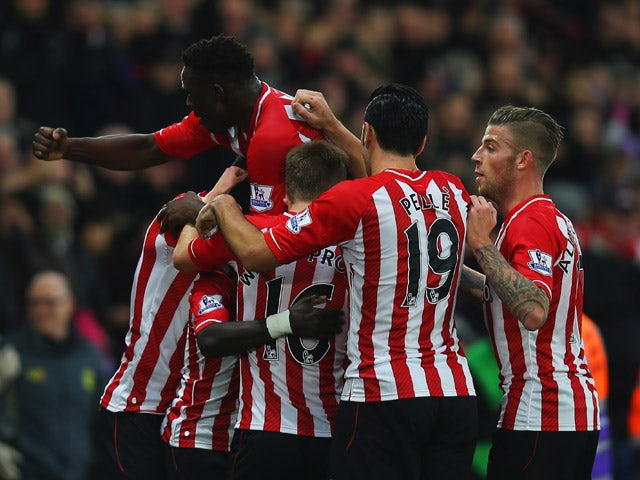 Result: Southampton too strong for Arsenal