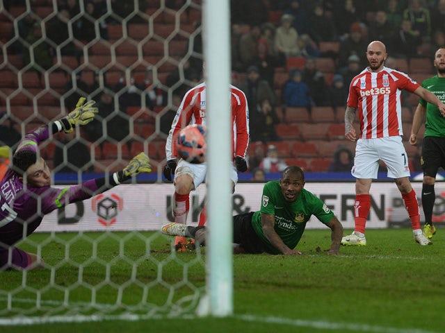 Result: Stoke break Wrexham hearts