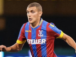 Stuart O'Keefe in action for Crystal Palace on July 23, 2014