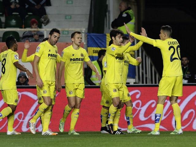 Result: Villarreal reach Copa del Rey semi-finals